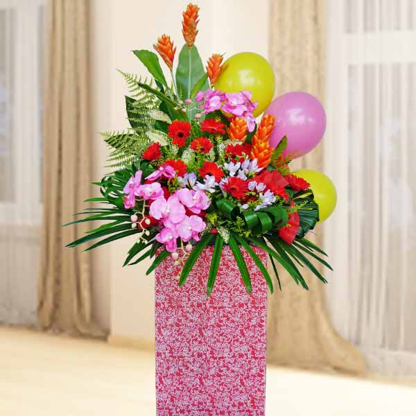 Artificial And Fresh Flower Opening Stand