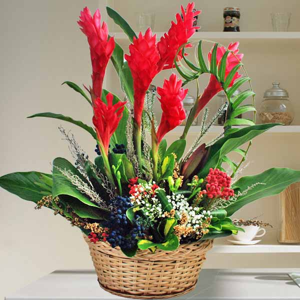 Ginger Flowers Arrangement