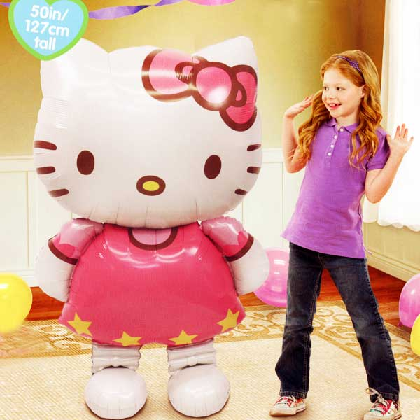 Hello Kitty Walks On Air Balloon